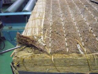 最高級稲わら畳床(棕櫚裏)