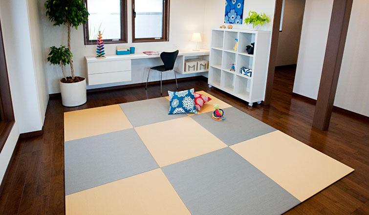 床暖房対応の超薄畳